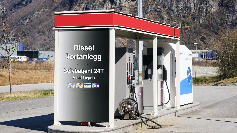 Diesel kortanlegg