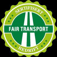 Fairtransport sertifisert bedrift